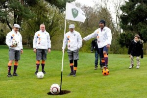 team building foot golf
